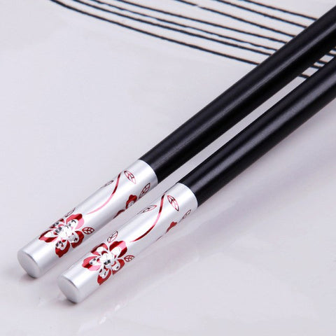 1 Pair 9.9 inches Chopsticks Set