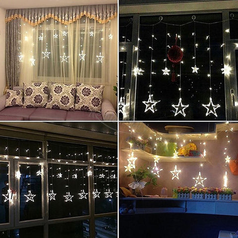 Curtain LED star Lights