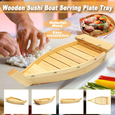 Image of Japanese Sushi Boat