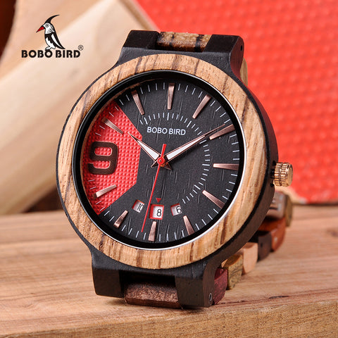 New Timepieces Luxury Men Wooden Watch