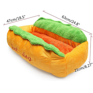 Hot Dog Shape Bed