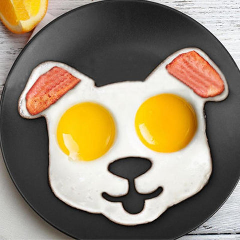 Frying Eggs Dog Shaped mold