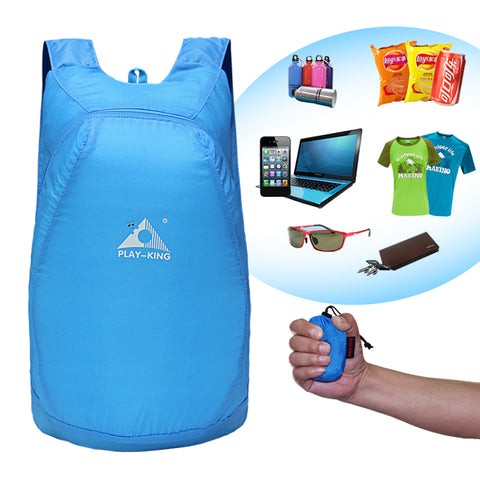 Image of Lightweight Waterproof Foldable Backpack