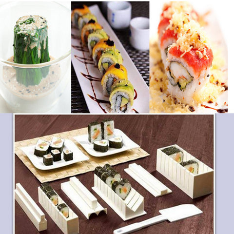 Image of 10PCS sushi molds