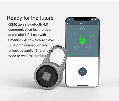 Fingerprint smart Waterproof Lock