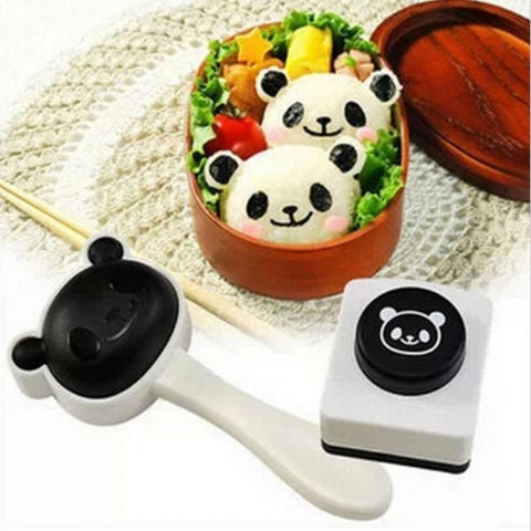 1set Kawaii Panda Rice Ball Mold