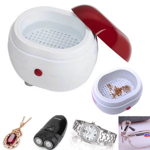 Mini Ultrasonic Cleaner for Jewelry & Watches