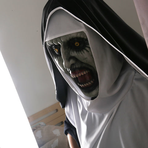 Image of Halloween Valak Scary Mask