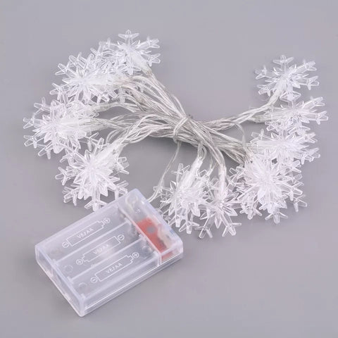 Snowflake Christmas Light Decorations