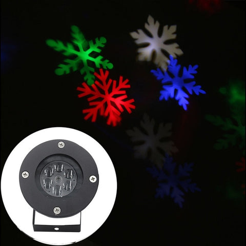 Image of Christmas Snowflake Projector