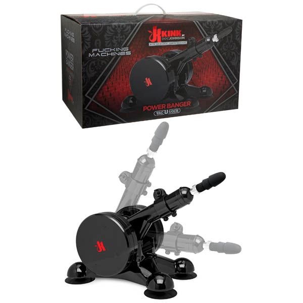 Kink Fucking Machines Power Banger - Powered Thrusting Machine with Vac-U-Lock Attachment