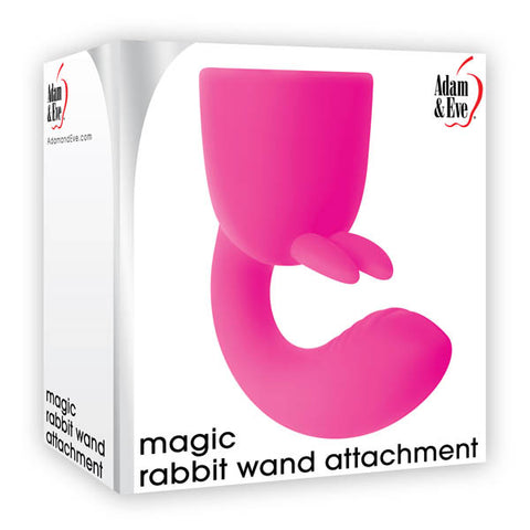 Adam & Eve Magic Rabbit Wand Attachment - Pink Head Attachment for Magic Massager