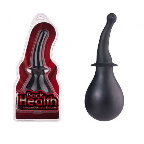 Back Health - Black 10 cm (4'') Douche - Brown Sugar Industries