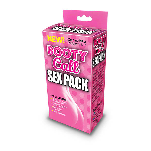 Booty Call Sex Pack - Complete Lotion Kit - 4 Piece Set