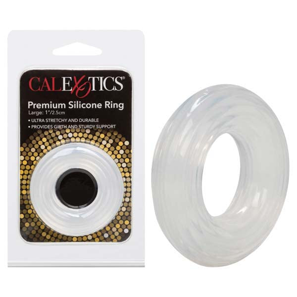 Premium Silicone Ring - Clear Large Sized Cock Ring - Brown Sugar Industries