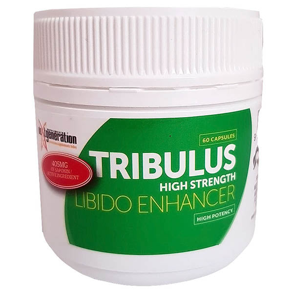 Tribulus Libido Booster - High Strength Libido Enhancer - 60 Capsules