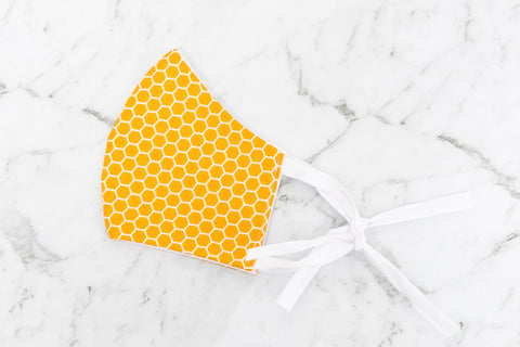 Reusable Face Mask - Mustard