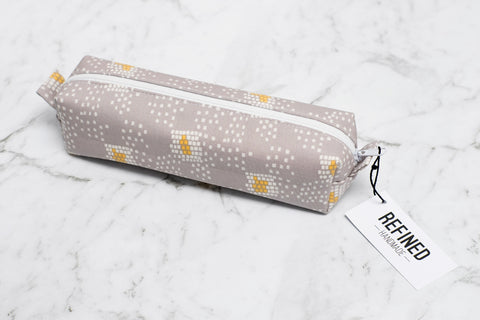 Pencil Case - Grey Confetti