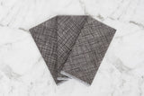 Cotton Hanky Set - Crosshatch