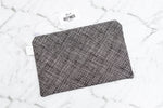 Large Pouch - Crosshatch