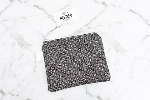 Crosshatch Pouch - Small