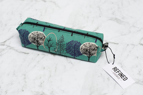 Pencil Case - Green Forest