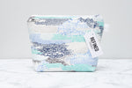 Ice White Makeup Bag