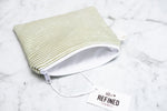 Small Pouch - Olive Stripes