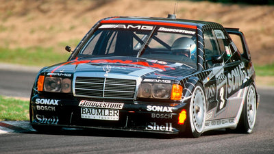 Stuttgart 1990:  The Evo II takes DTM Touring by storm