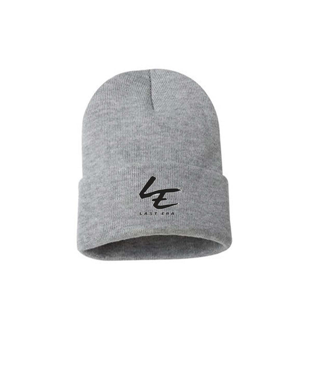 Last Era Embroidered Cuffed Beanie - Gray