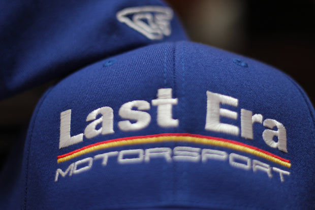 Last Era Motorsport FLEXFit Hat- Blue