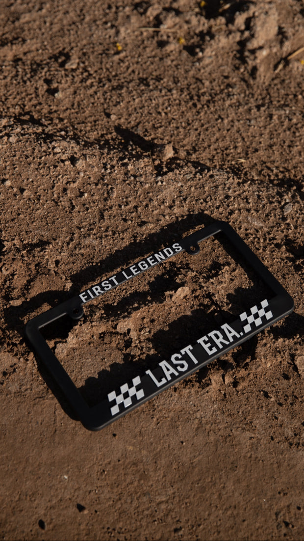 Motorsport License Plate Frame