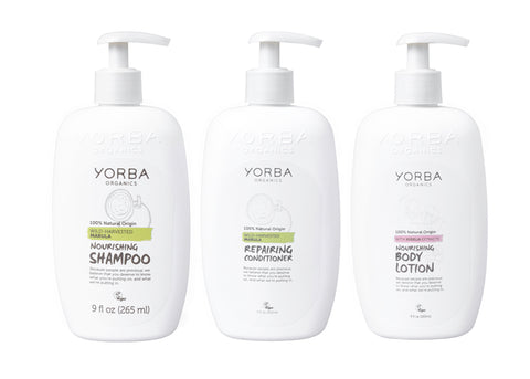 6x PACK Nourishing Shampoo & Conditioner & Body Lotion @ R13,00 each