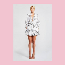 Load image into Gallery viewer, Shona Joy | Apparition Frill Collar Mini Frock | White