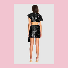 Load image into Gallery viewer, Alice McCall | Orchid Mini Frock | Black