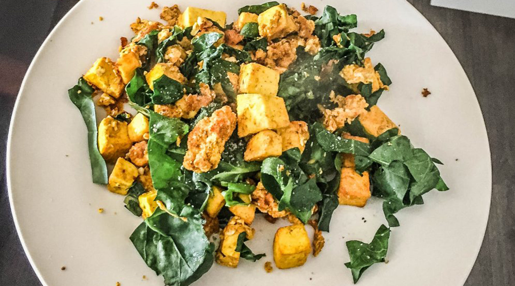 Photo of Megs and Soph's tofu scramble recipe