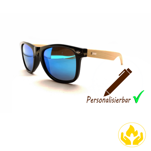 Holzbrenner.shop, personalierbare Sonnenbrille