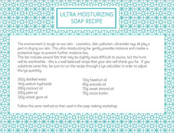 ULTRA MOISTURIZING SOAP RECIPE