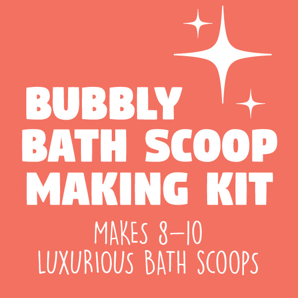 BUBBLY BATH SCOOPS MAKING KIT