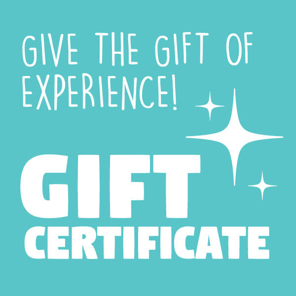 WORKSHOP GIFT CERTIFICATES