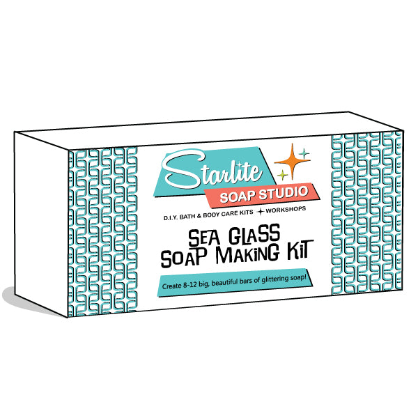 Seaglass Soap Making Kit