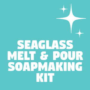 SEAGLASS MELT AND POUR SOAPMAKING KIT