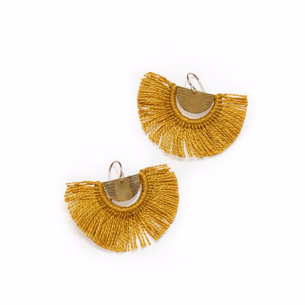 POINT B FRINGE EARRINGS