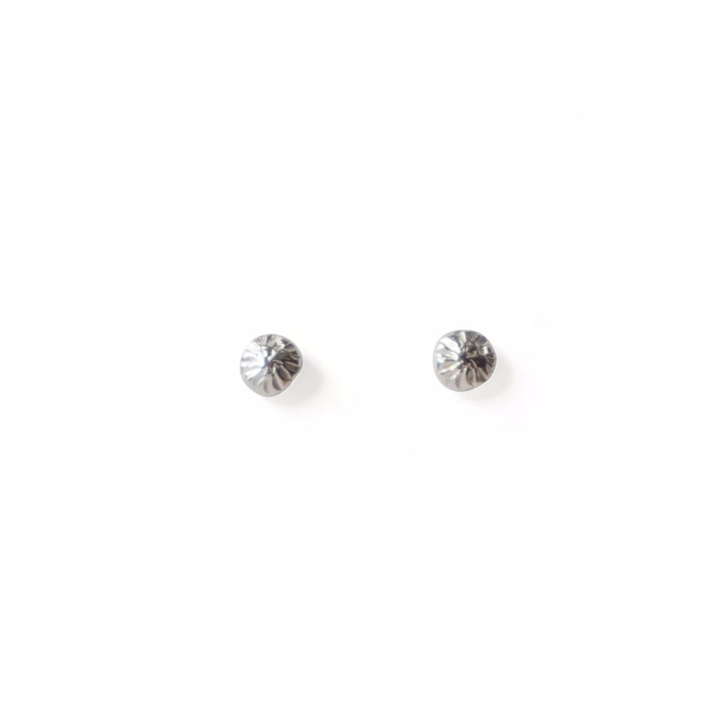 Sterling Silver Shine Post Earrings by Rebekah J. Designs