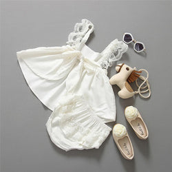 Baby Girl Clothes Summer Backless Princess Dress