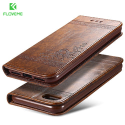 Phone Bag Cases Leather Stand Wallet