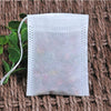 TEA BAG POUCHES – DRAWSTRING POUCH FOR TEA, COFFEE, HERBS – FILTER BAGS FOR TEA AND COFFEE – ECO-FRIENDLY POUCHES