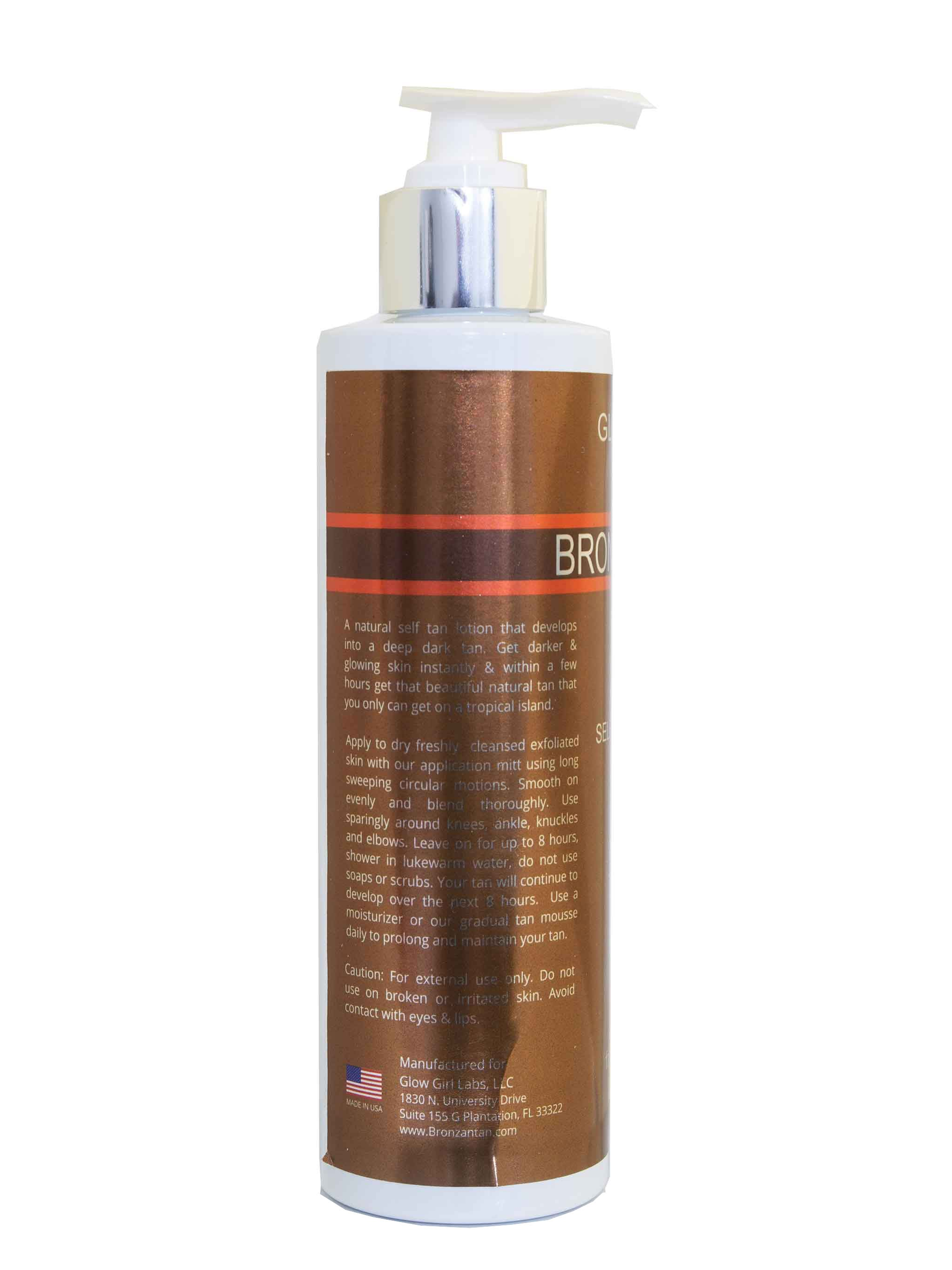 BRONZAN TAN NATURAL GLOW SELF TAN LOTION - 6.7 OZ - BRONZAN TAN