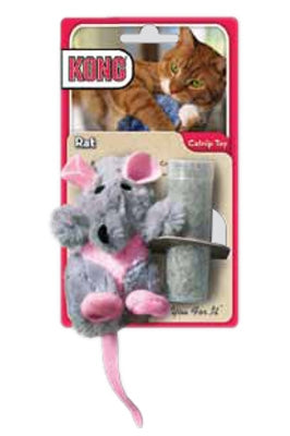 Kong Catnip Cat Toy- Rat