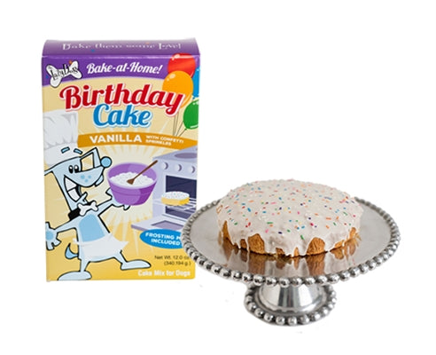 Birthday Cake for dogs-  bake at home